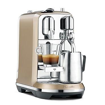 Nespresso Creatista Espresso Maker by Breville, Champagne