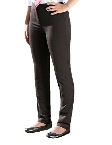 Pantalon Uni Fille Noir banner 4directuniforms B5qwFg