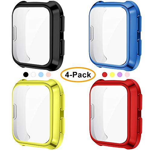 CAVN 4 Pack Screen Protector Case Compatible