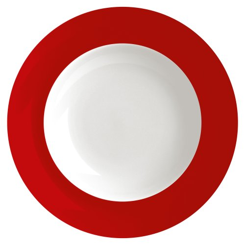 Waechtersbach Uno Soup Plates, Chili, Set of 4 for sale  Delivered anywhere in USA