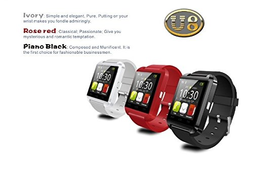 Amazon.com: Bluetooth Smart Watch Intelligent Wrist Watch Relojes Inteligente for Andriod Phones (black): Cell Phones & Accessories