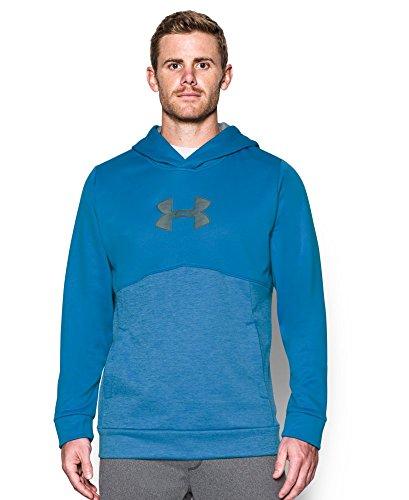 Under Armour Men's Storm Icon Logo Twist Hoodie, Brilliant Blue (787), Small