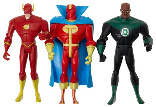 Justice League Unlimited The Flash, Green Lantern, Red Tornado-H2107 (Red Tornado)