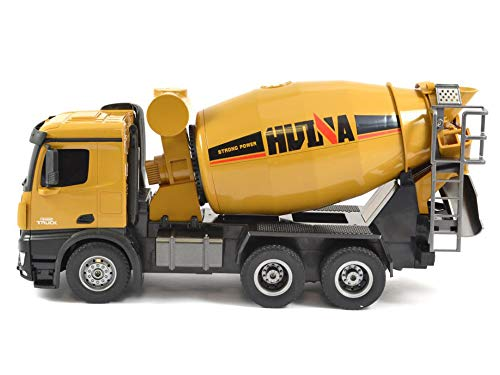 (Extreme Hobby 1: 14 Scale RC Cement Mixer with Rechargeable Batteries, 2.4 Ghz Remote & Lights )