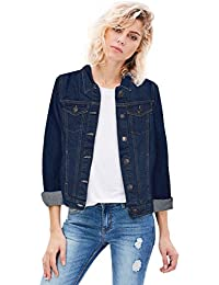 Hybrid Women Junior Classic 4 Pockets Denim Jacket