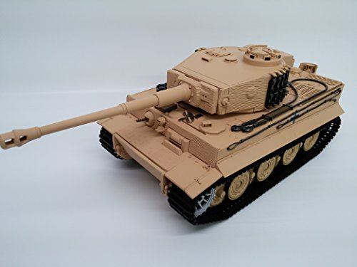 Taigen Tiger 1 Late Version Airsoft Plastic Model RTR RC Tank 1/16th 2.4GHz TAG12020