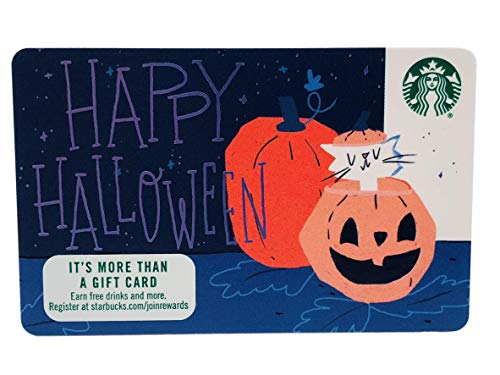 Starbucks Gift Card 2018 Happy Halloween Recycled Paper Collectible No Value]()