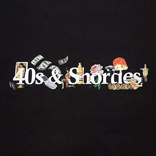 amp; T 40s Shirt Men's Life Black Shorties qrFCdF