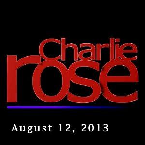 Charlie Rose: John Oliver, August 12, 2013 Radio/TV Program