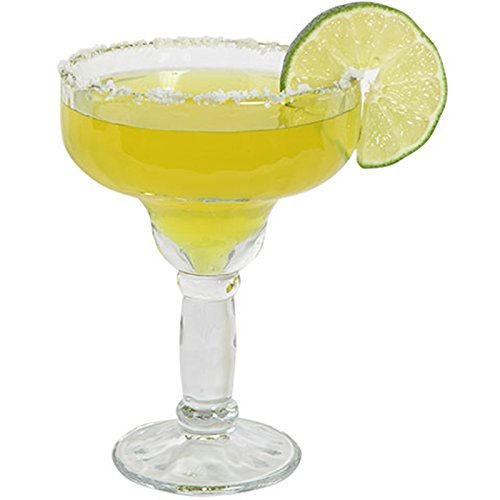 Margarita Glass SET OF 6 With Bonus Recipe Booklet