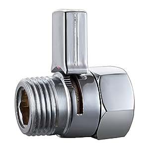 HOMEIDEAS Solid Brass Shower Flow Control Valve Water