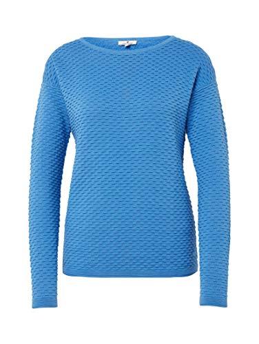 Donna Maglione Tailor Manica Blu Lunga Mare Tom S4U0w