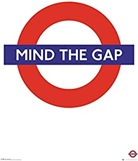 product image for Frame USA Transport for London Mind The Gap Poster (24x36) (Rolled)