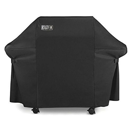 Gas Grill Cover Large 60 Inch Heavy-Duty Waterproof Gas BBQ