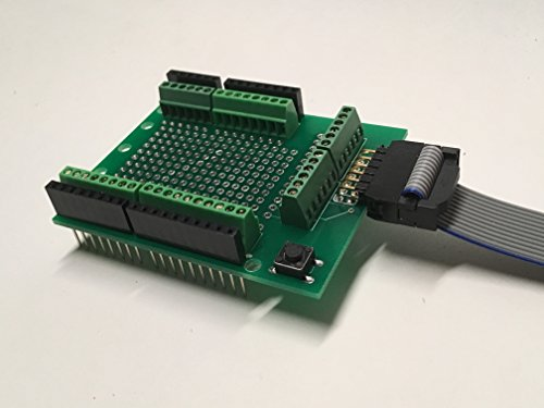 Arduino Prototype Screw Shield Kit with Configurable Detachable Cable by Protozip