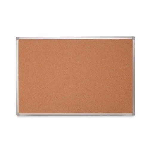 "MasterVision Earth Cork Board with Aluminum Frame, 48"" x 72"", 80% Recycled"