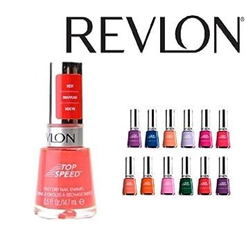 Amazon.com : Lot of 10 Revlon Finger Nail Polish Color Lacquer All ...