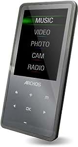 Archos 24 Vision - Reproductor MP4 8GB - Negro