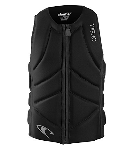O'Neill Wetsuits  Men's Slasher Comp Life Vest,Black,X-Large
