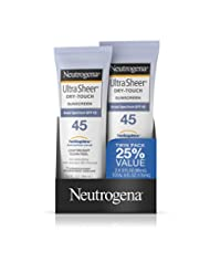 Neutrogena Ultra Sheer Dry-Touch Sunscreen, Broad Spectrum Sp...