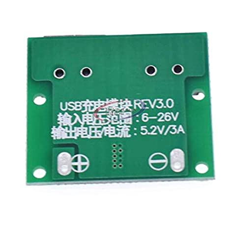 DC-DC 9V//12V//24V to 5V USB 2A Step Down Power Module Precise Vehicle Charger DL