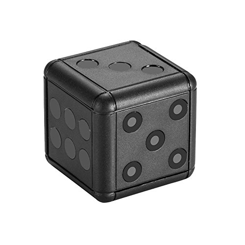 Teepao SQ16 1080p Mini Dice Video Camera, Small Sports Camera HD Video Camcorder with Night Vision Motion Detection Mini-DV Video Recorder for Outdoor Sports