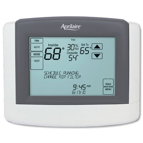 Aprilaire 8800 Touchscreen Thermostat, Programmable, HVAC Control by Aprilaire