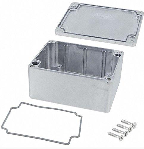 BUD Industries AN-1304-A IP68 Aluminum 4.53x3.54x2.17 Enclosure, Natural