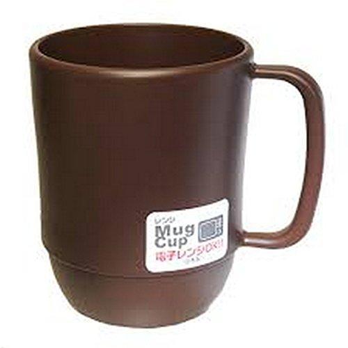 JapanBargain 3092 Microwavable Mug, 11.8 ounce, Chocolate