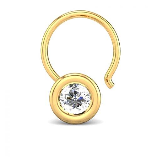 0.1 Ct Diamond Bezel - 4