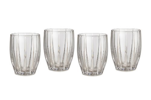Marquis by Waterford Omega Double Old Fashioned Glasses, Set of (Double Marquis)