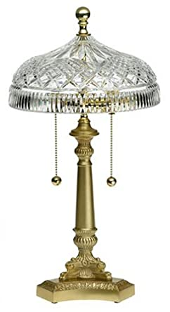 Waterford crystal 18 inch beaumont lamp table lamps amazon waterford crystal 18 inch beaumont lamp aloadofball