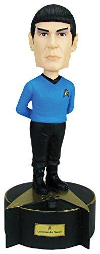 Bif Bang Pow! Star Trek: The Original Series Talking Spock Bobble Head - Convention Exclusive Action - Bobble Edition Head Doll