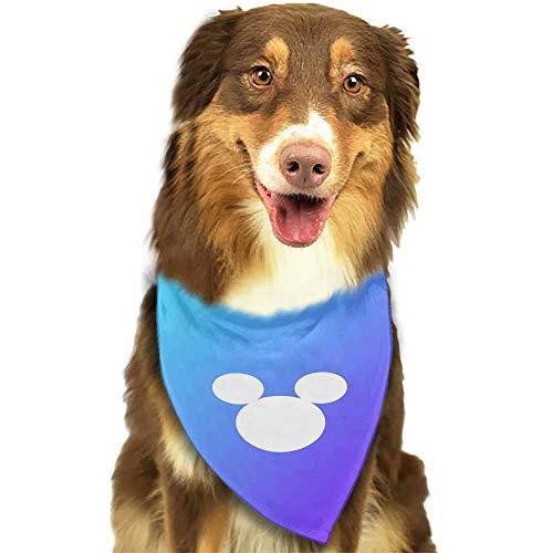 Plaid Dog Bandana,Cotton Bandanas Handkerchiefs Scarfs Triangle Bibs Accessories,Size:side-18