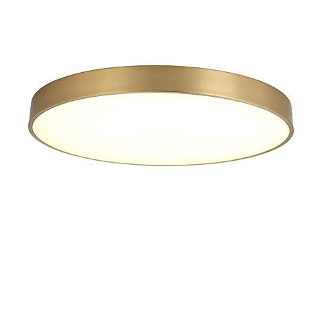 Amazon.com: Lámpara de techo ultrafina redonda LED de 12 W ...