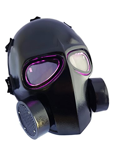 Invader King G Mask LEDs Army of Two Airsoft Mask Protect...
