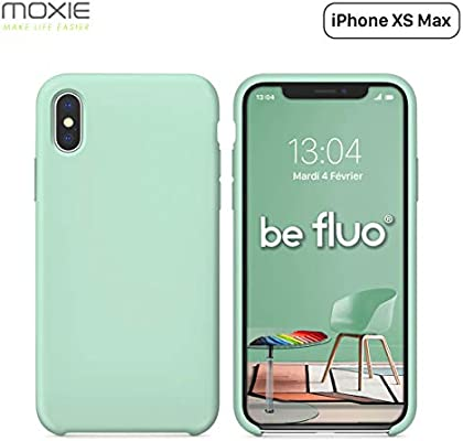 coque iphone xs max microfibre moxie