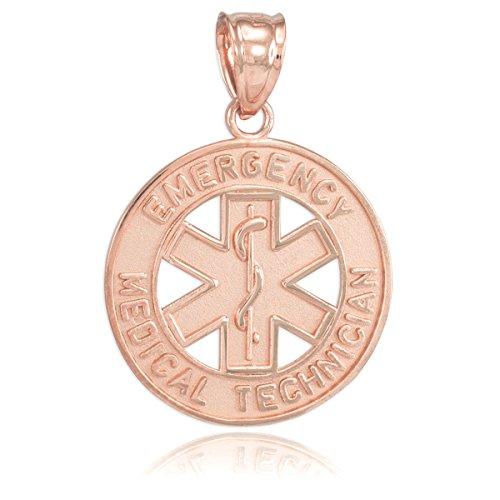 10 ct 471/1000 Or Rose EMT medizinisch- Pendentif