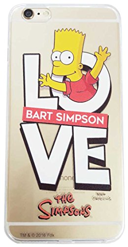 The Simpsons Mobile Back Cover Case for iPhone 6 6S iPhone7 The Simpsons family (Love Bart - 4.7inch)