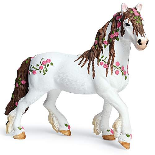 - Kolobok - Magic Horse Toy - Wild Animals Action Figures - White