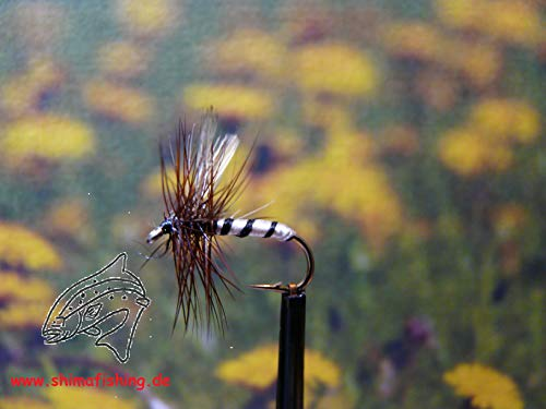 """Dry Fly """" Drone """" Set of 3, hook size 16"""