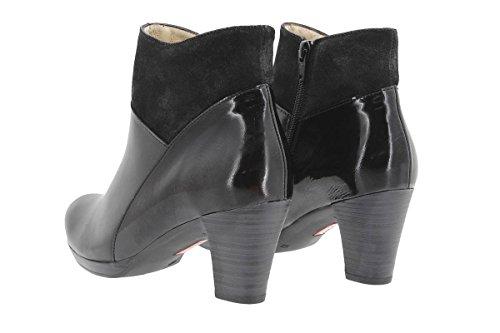 PieSanto Women's 9805 Black Leather Ankle Boot Comfort Extra Wide 41 W EU (10.5-11 C/D US Women) by PieSanto (Image #2)