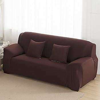 Amazoncom Subrtex 1Piece Spandex Stretch Sofa Slipcover Sofa