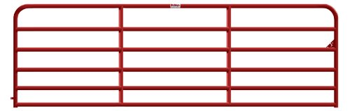 Behlen Country 40120141 14' 6Rail RED Heavy Duty Gate - Quantity 1, As Shown