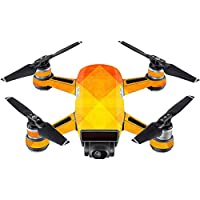 Skin For DJI Spark Mini Drone – Orange Texture | MightySkins Protective, Durable, and Unique Vinyl Decal wrap cover | Easy To Apply, Remove, and Change Styles | Made in the USA