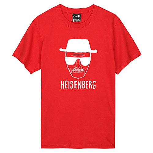 Heisenberg Beard (Heisenberg T-shirt Top Fun Men's Women's Tumblr Tv Beard)