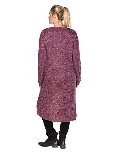 sheego Casual Cardigan tallas grandes Mujer Violeta