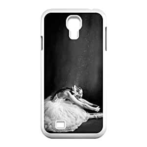 Dancing girl Customized Cover Case with Hard Shell Protection for SamSung Galaxy S4 I9500 Case lxa#858564