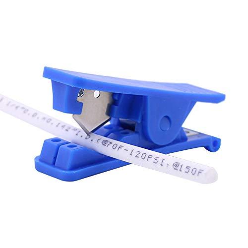 Beduan Mini Plastic Pipe Hose Tube Cutter Scissors Portable Drip Tubing Cut 1/8