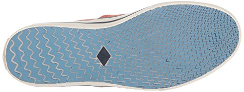 Sperry Top-sider Mens Capitani Cvo Nautical Sneaker Rosso